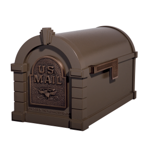 Gaines Eagle Keystone MailboxesBronze with Antique Bronze