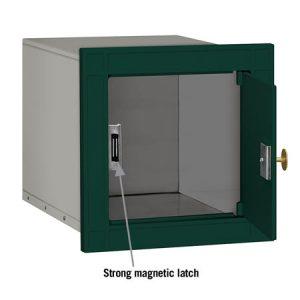 Salsbury Column Mailbox Green Eagle Door