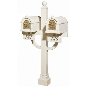 Mailboxes with Double Post